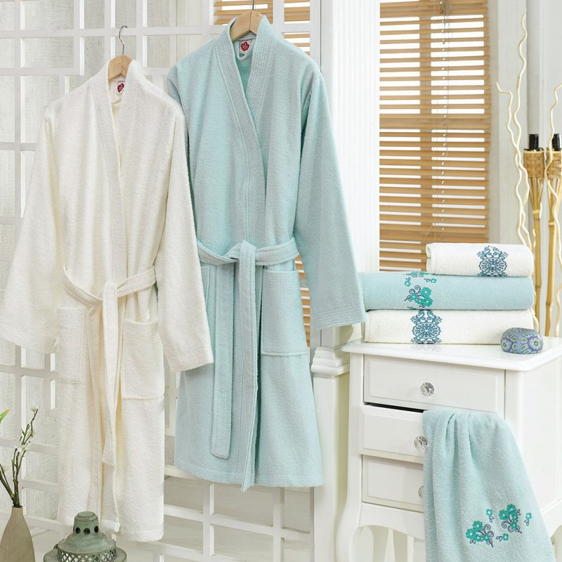 CB BADE MANTIL SET - KREM MINT