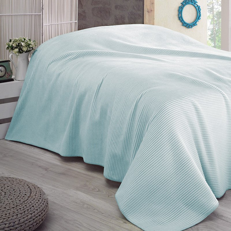 LADY Blanket 200x230 - Turquoise