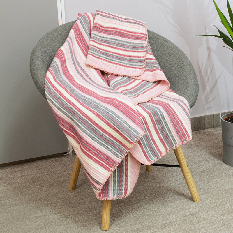 LINEL BLANKET 130x170  - LILAC
