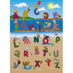 Foto tapet 383 Animal Alphabet 183x254