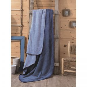 CB COTTON BLANKET DOUBLE - MAVI MAVI