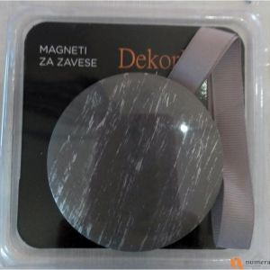 Magnet za zavese E4 - Light Grey