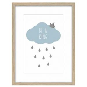 SLIKA KIDS 27x37 sa ramom - 26807 - Cloud Blue