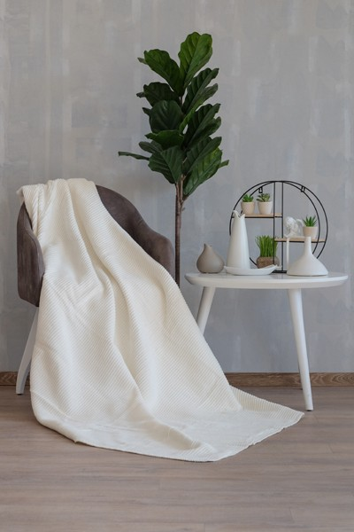 LADY Blanket 200x230 - White